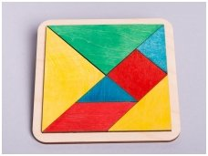 "Logic game ""Tangram"""