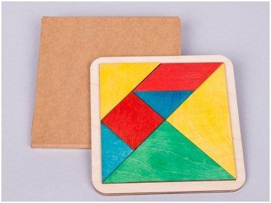 Loginis žaidimas tangrama 2