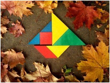 Loginis žaidimas tangrama 10