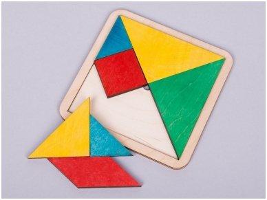 Loginis žaidimas tangrama 3