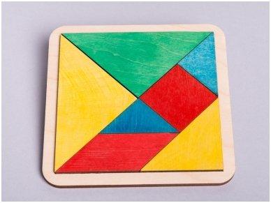 Loginis žaidimas tangrama