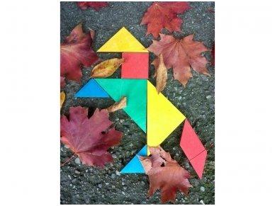 Loginis žaidimas tangrama 7