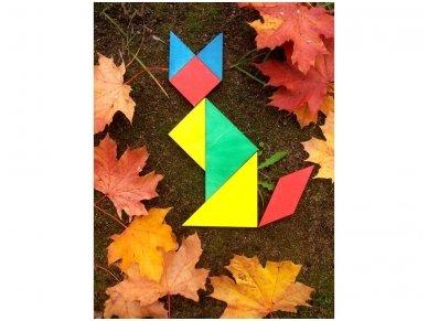 Loginis žaidimas tangrama 4