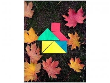 Loginis žaidimas tangrama 9