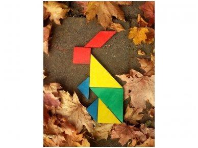 Loginis žaidimas tangrama 5