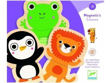 """Magnetinė dėlionė """"Gyvūnėliai"""" 2"""