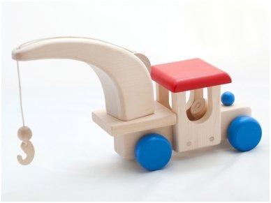 Mašina-kranas 2