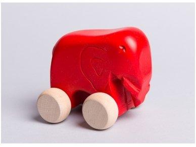 Little elephant on wheels 5