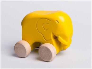 Little elephant on wheels 6