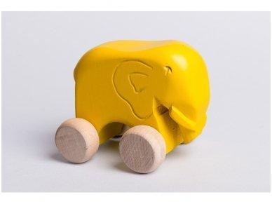Little elephant on wheels 11