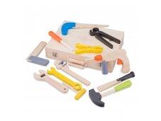 Medinė meistro įrankių dėžė