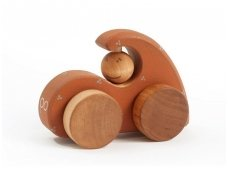 Wooden Sports Car (brown)