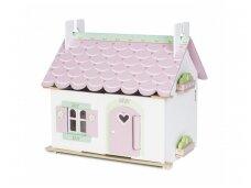 Dviejų aukštų lėlių namas
