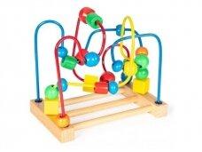 """Medinis lavinamasis žaislas """"Labirintas"""""""