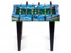 Mėlynas stalo futbolas