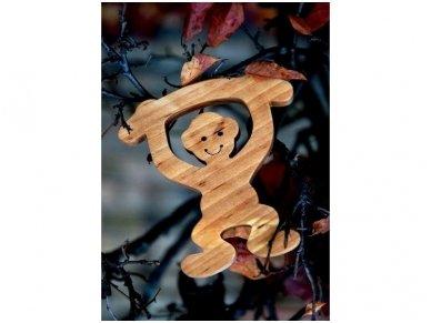 Medinė beždžionėlė 15