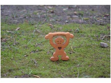 Medinė beždžionėlė 2016-tų metų simbolis 17