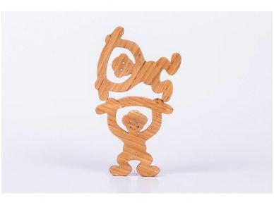 Medinė beždžionėlė 4