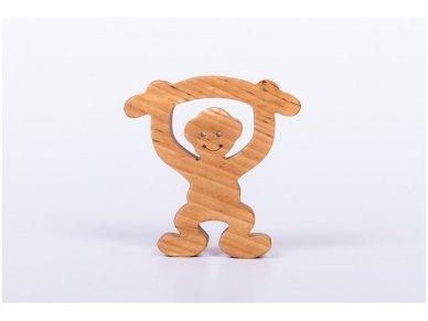 Medinė beždžionėlė 2016-tų metų simbolis 2