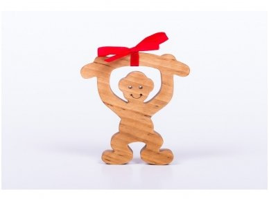 Medinė beždžionėlė 2016-tų metų simbolis
