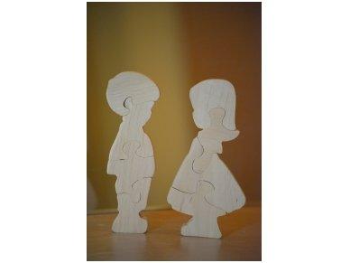 Medinė delionė berniukas 3