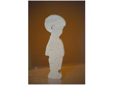 Medinė delionė berniukas 2