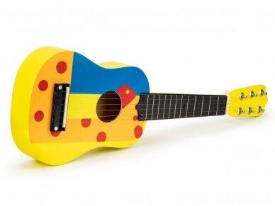 Medinė gitara 4