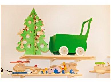 Medinė kalėdų eglė 10