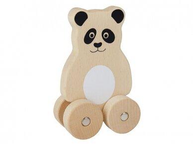 """Medinė stumiama """"Panda"""""""