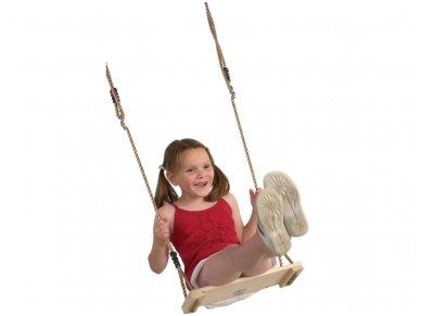 Medinė sūpynių sėdynė 2