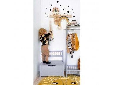 Medinė žaislų dėžė 3