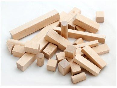 Wooden blocks set 5