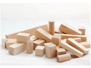 Wooden blocks set 6