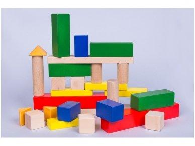 Wooden blocks set 3