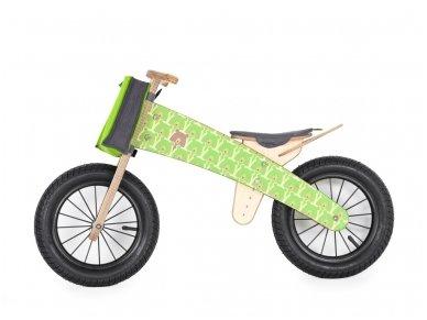 "Wooden balance bike ""Green bears"""
