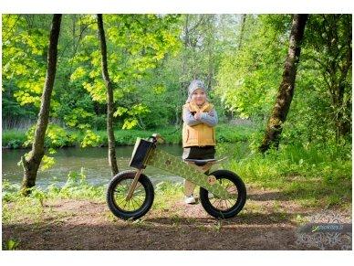 """Medinis balansinis dviratukas """"Žaliosios meškutės"""" 6"""