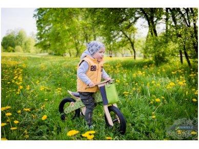 """Medinis balansinis dviratukas """"Žaliosios meškutės"""" 8"""