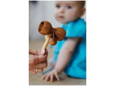 Wooden music rattle 4