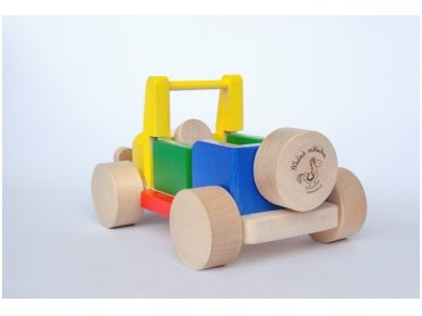 Wooden jeep 3