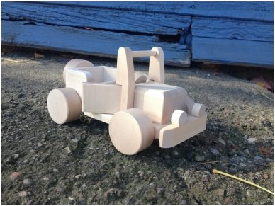 Wooden jeep 6