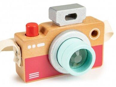 Medinis fotoaparatas vaikams 2