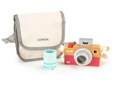 Medinis fotoaparatas vaikams 3