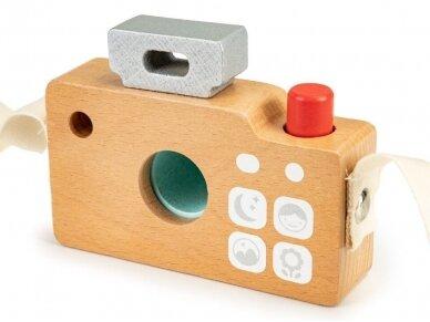 Medinis fotoaparatas vaikams 4