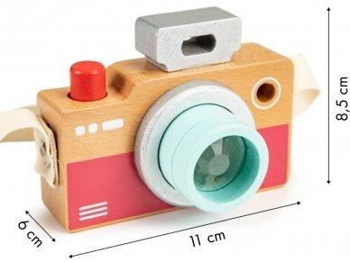 Medinis fotoaparatas vaikams 5