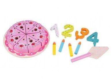 Medinis gimtadienio tortas 2