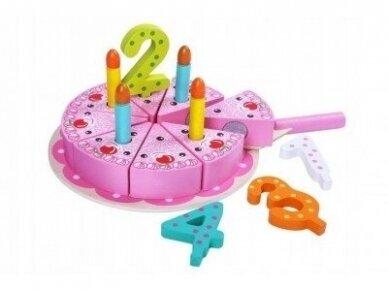 Medinis gimtadienio tortas