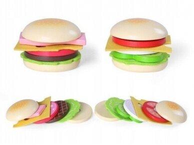 """Medinis """"Hamburgeris"""" 2"""