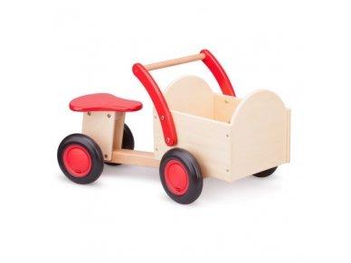 Medinis keturratis vežimėlis