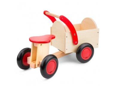 Medinis keturratis vežimėlis 2