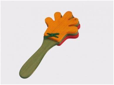 Medinis klapsiukas-rankytės 2